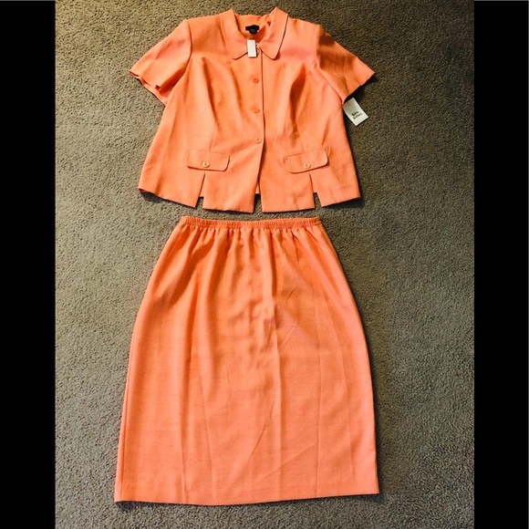 Leslie Fay Suit Skirt Sz Plus 20WP🦋 New with Tags